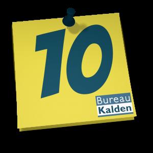 10 redenen om voor Bureau Kalden te kiezen